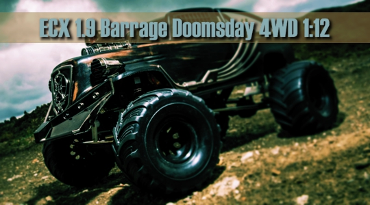 ECX Barrage 1.9 Doomsday 1/12 4WD Brushed Scale Crawler RTR