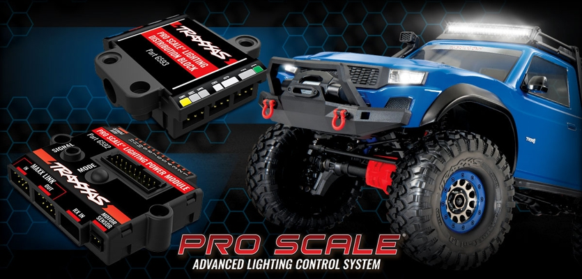 Traxxas Pro Scale Beleuchtung