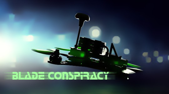 Blade Conspiracy 220 BNF Basic Racing Copter