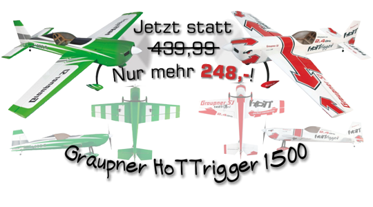 Graupner HoTTrigger 1500 in Aktion!