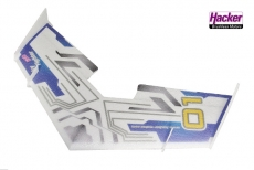 Hacker SkyFighter EVO - Race Design Combo - 550 mm