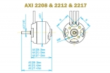 Brushless Motor AXI 2212/34 Gold Line