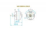 Brushless Motor AXI 2808/24 Gold Line