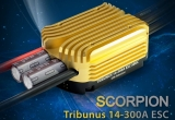 Scorpion TRIBUNUS 14-300A SBEC Brushless Regler 4-14S Lipo