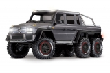 Traxxas Mercedes-Benz G63 AMG 6WD 1/10 Brushed Scale-Crawler RTR silber